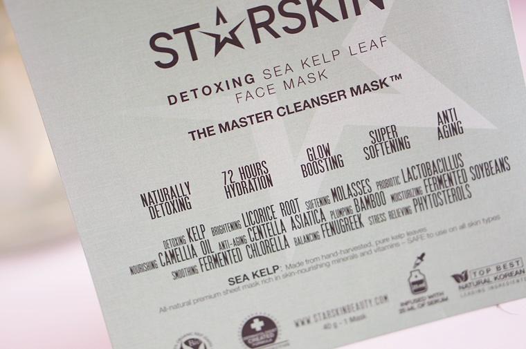 starskin the master 7 - Starskin The Master cleanser foam & sheet mask