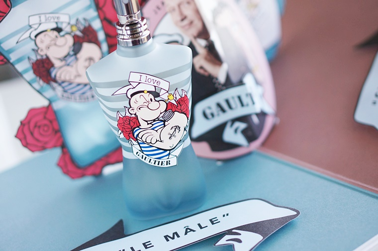 jean paul gaultier popeye 2 - Jean Paul Gaultier Betty Boop & Popeye (Eau Fraîche limited edition)