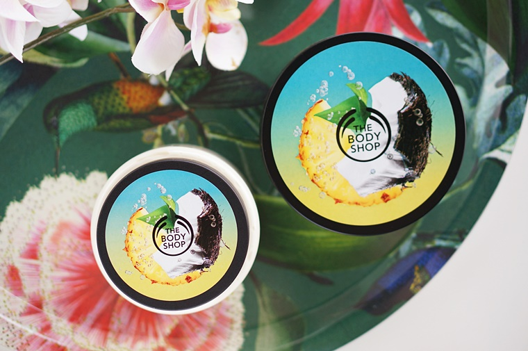the body shop pinita colada 2 - Summer musthave! | The Body Shop Piñita Colada (limited edition)