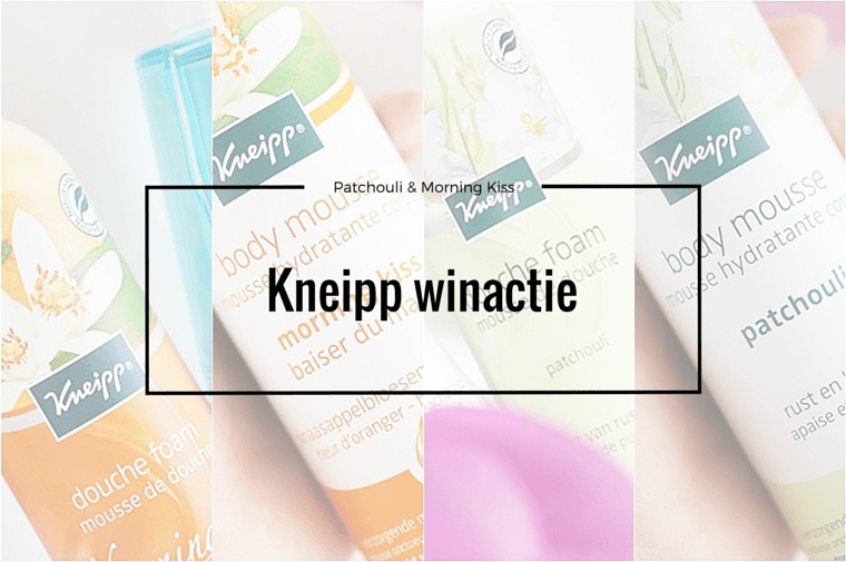 kneipp winactie juni 2016 1 - Kneipp Morning Kiss & Patchouli