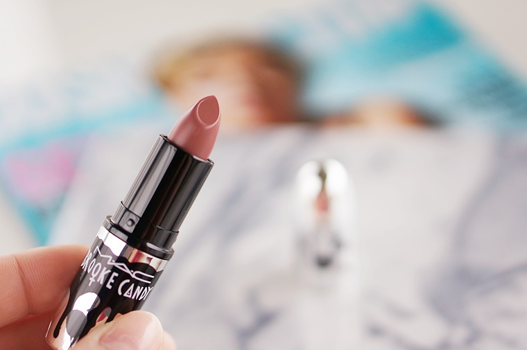 mac whirl lipstick 2 - MAC Whirl lipstick (Brooke Candy collectie)