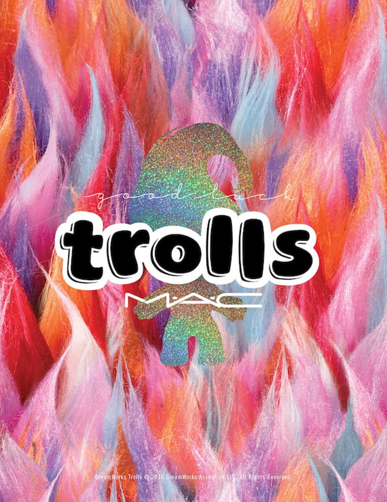 mac good luck trolls 2 - Newsflash | MAC Good Luck Trolls collectie