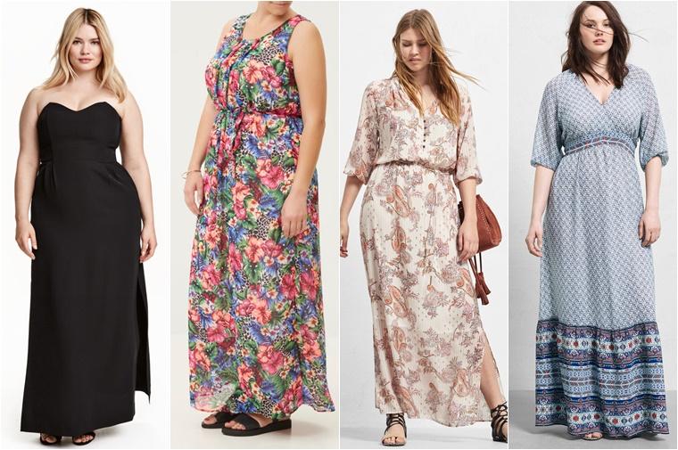 plussize maxidresses 3 - Plussize maxidresses shoppingtips!