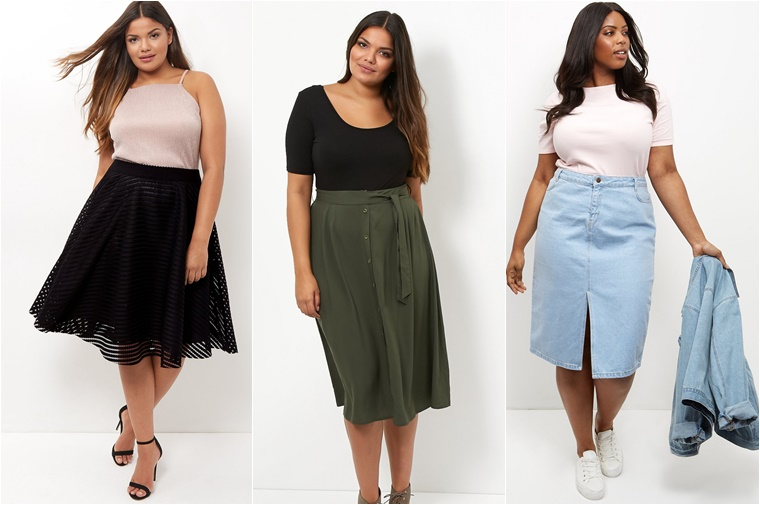 plussize midi skirts 3 - Plussize fashion | De midi skirt