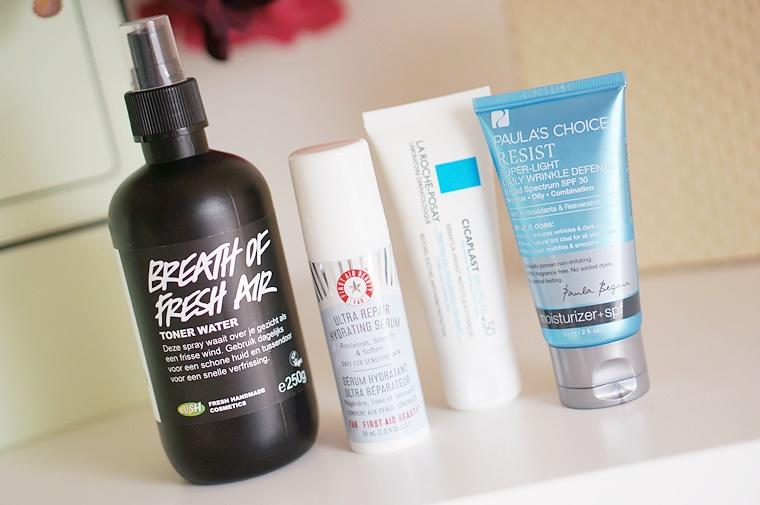 skincare zomer 1 - Mijn skincare routine voor de zomer