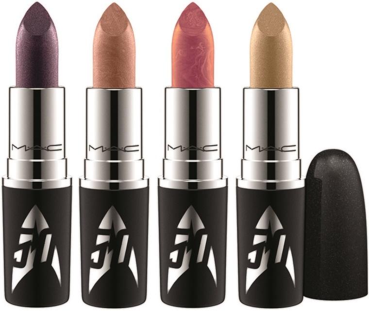 mac star trek 3 - MAC Star Trek | Kling-It-On lipstick & Set To Stun lipglass