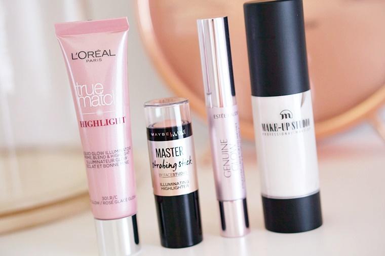 strobing producten lichte huid 1 - 4 x nieuwe strobing producten voor de lichte huid