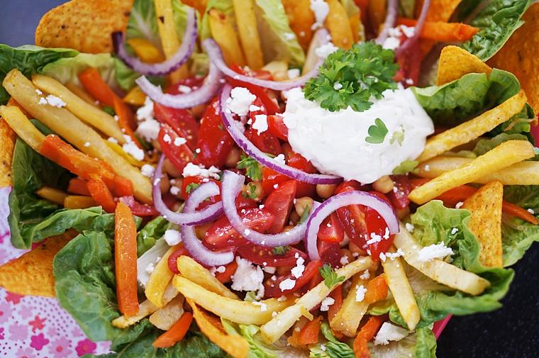 veggie snack plate 2 - Family meals | Veggie snack plate!