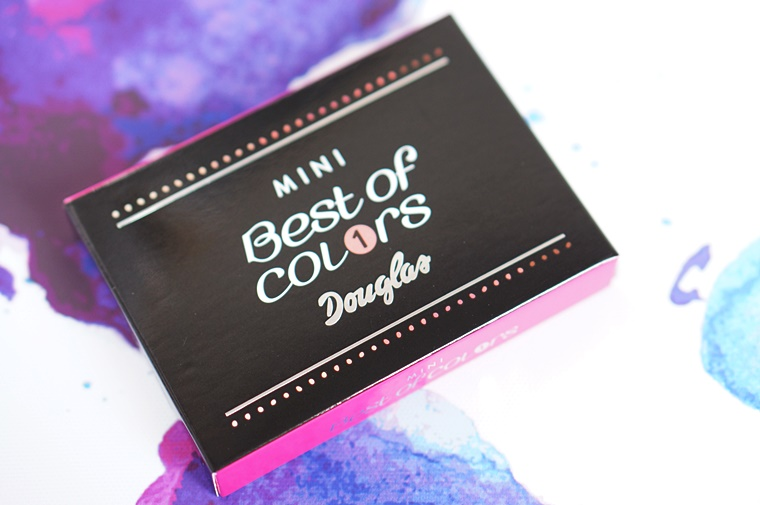 douglas best of colors mini palette 1 - Budget beauty tip | Douglas Best of Colors mini palette