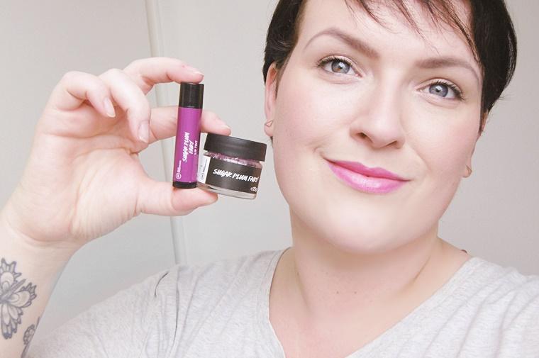 lush sugar plum fairy 7 - Lush Sugar Plum Fairy lip scrub & lip tint