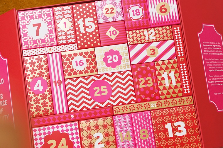 the body shop deluxe adventskalender 2 - The Body Shop Deluxe adventskalender