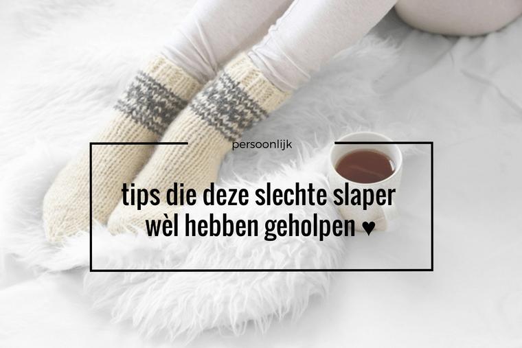 slechte slaper tips