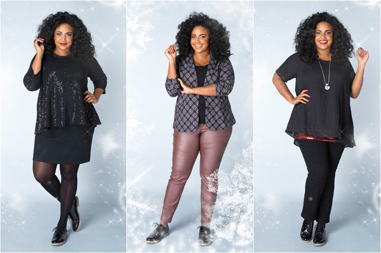 x two kerst outfits 4 - Christmas Countdown | X-two Kerst outfits (plussize fashion)