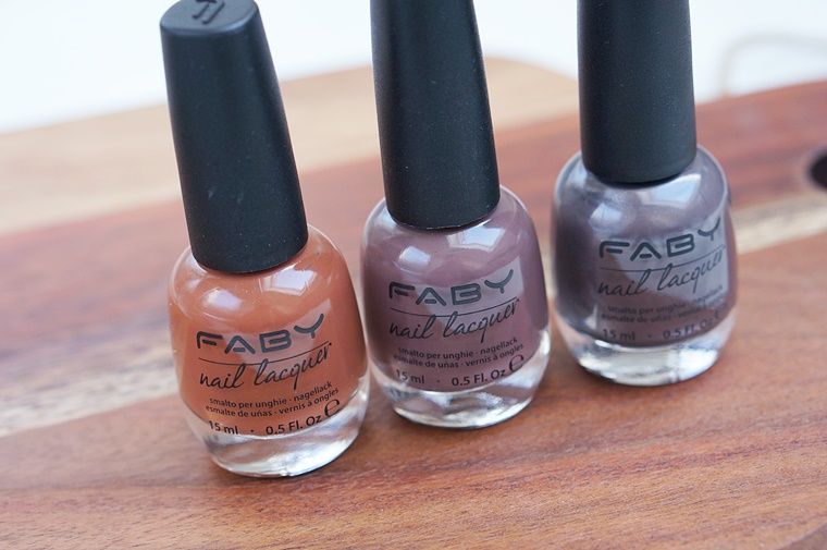 faby nagellak posh collectie 4 - FABY nagellak Posh collectie