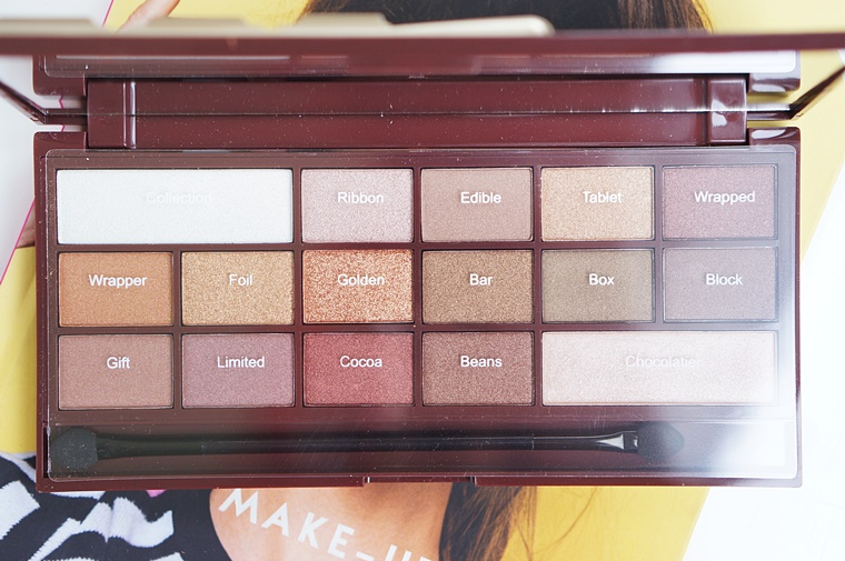 i heart makeup golden bar review 2 - I heart Makeup Golden Bar palette