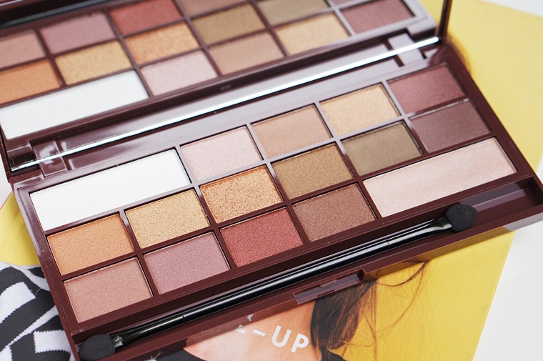 i heart makeup golden bar review 4 - I heart Makeup Golden Bar palette