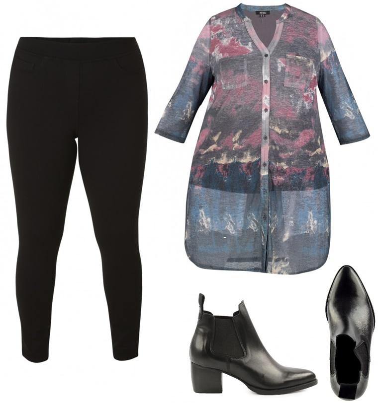 x two mesh blouse 2 - Plussize news | X-Two lanceert elke week een nieuwe collectie