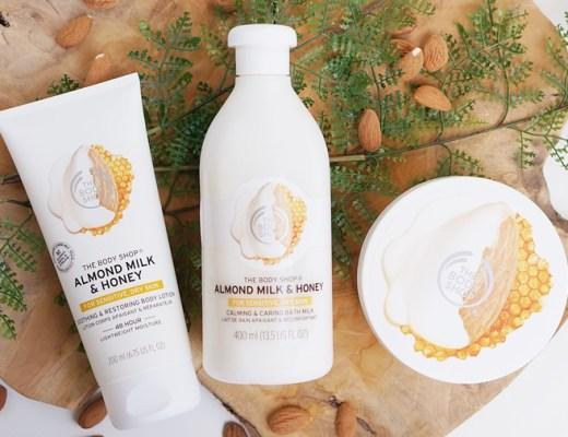 the body shop almond milk