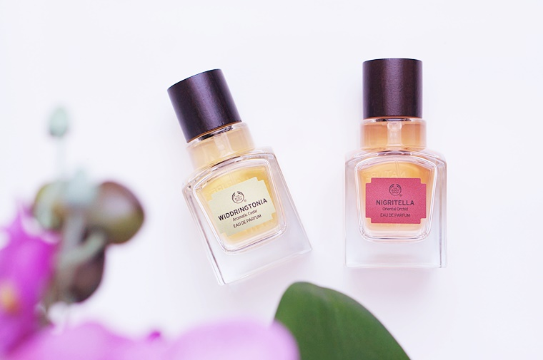 the body shop elixirs of nature review 6 - The Body Shop Elixirs of Nature | Nigritella & Widdringtonia