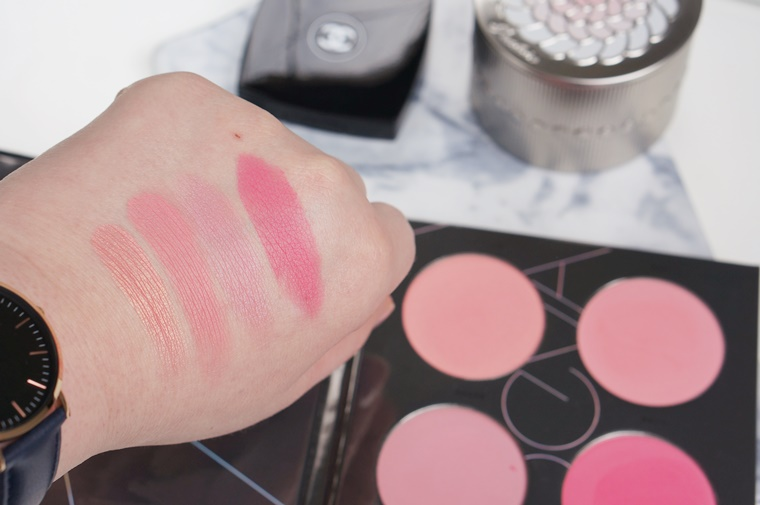 zoeva pink spectrum blush palette review 4 - ZOEVA Pink Spectrum blush palette