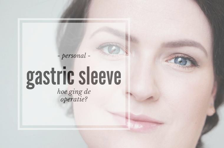 gastric sleeve operatie