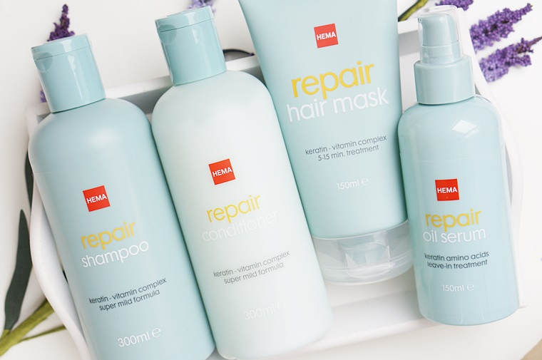 hema repair zonder sls sles 2 - Budget Beauty Tip | Haarverzorging zonder SL(E)S!