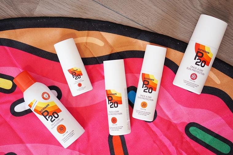 p20 zonbescherming review 1 - De hele dag beschermd tegen de zon met één keer insmeren?