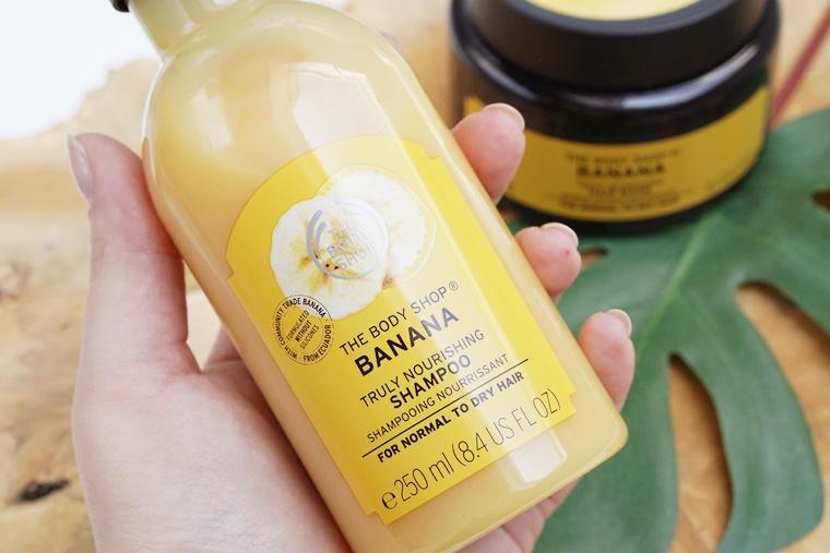 the body shop banana hair 2 - The Body Shop Banana shampoo & hair mask