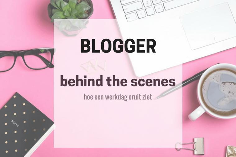 werkdag van een blogger