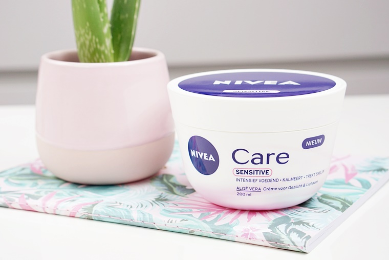 nivea care sensitive review 1 - Budget Beauty Tip | Nivea Care voor de gevoelige huid