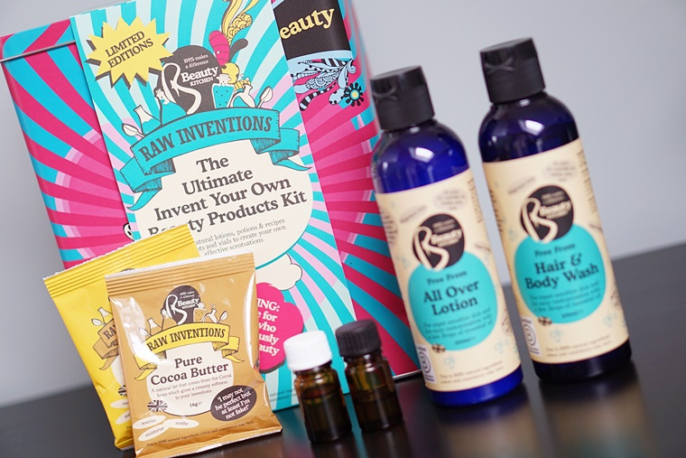 beauty kitchen raw inventions kit 2 - Beauty Kitchen   Raw Inventions giftset