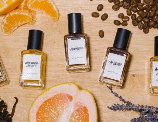nieuwe lush parfums