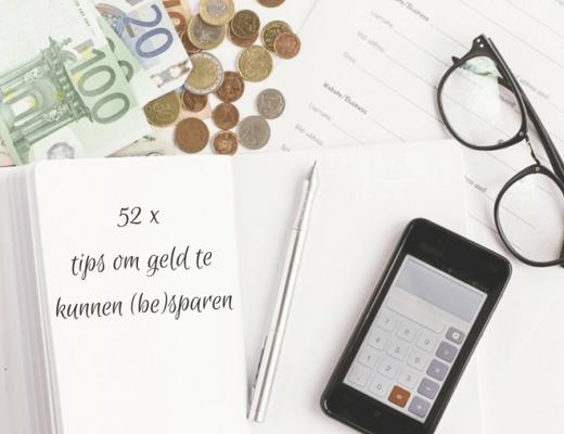geld besparen tips 2018