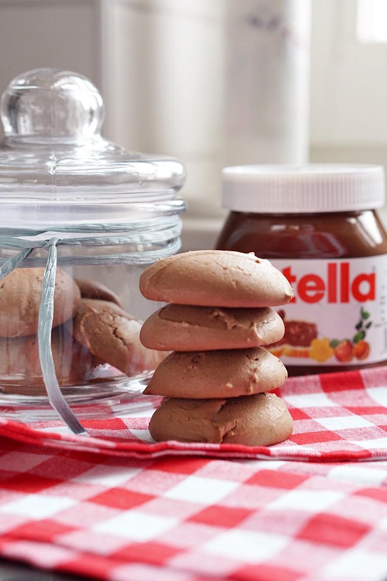 nutella koekjes recept