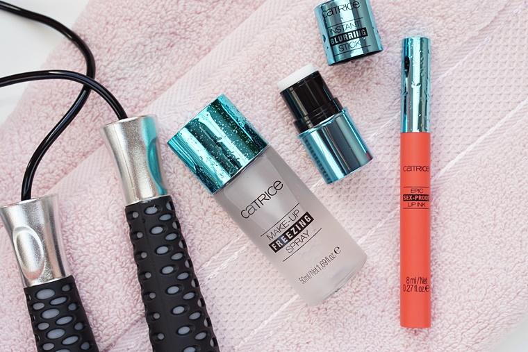 make-up tijdens sporten