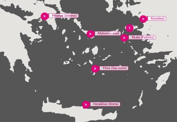 griekenland cruise