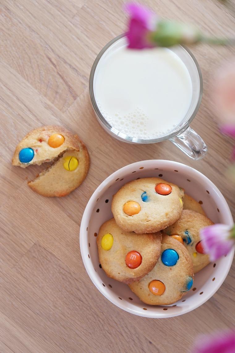 m m koekjes recept 1 - The Cookie Bakery | M&M koekjes