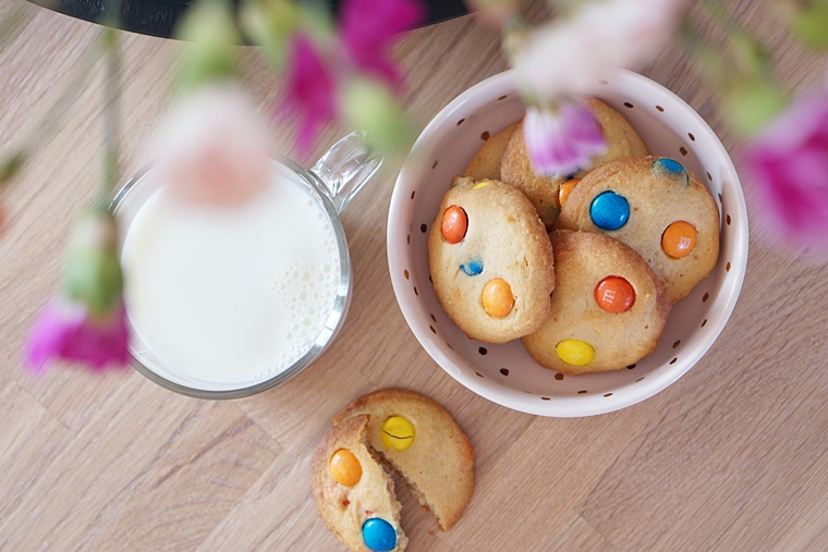 m m koekjes recept 2 - The Cookie Bakery | M&M koekjes