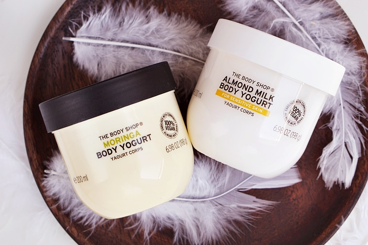 the body shop body yogurt