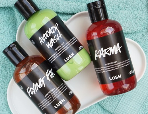 Lush Kitchen showergels
