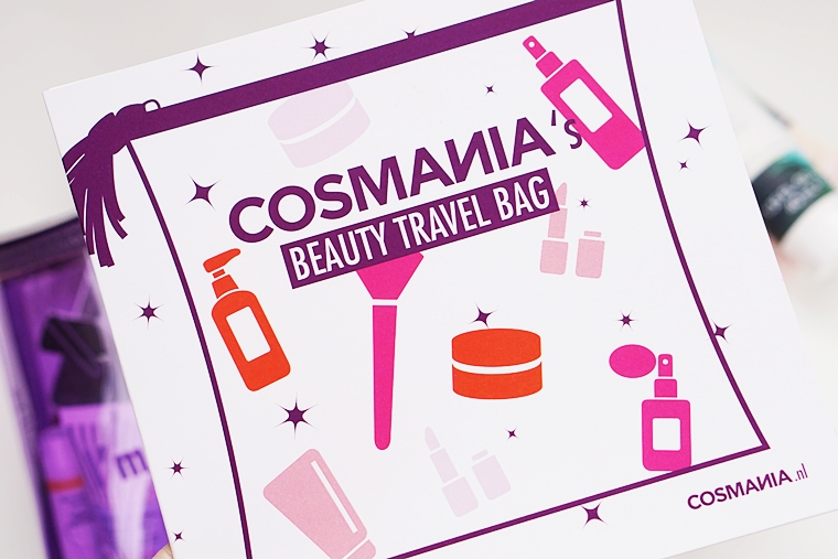 Cosmania Beauty Travel Bag inhoud unboxing