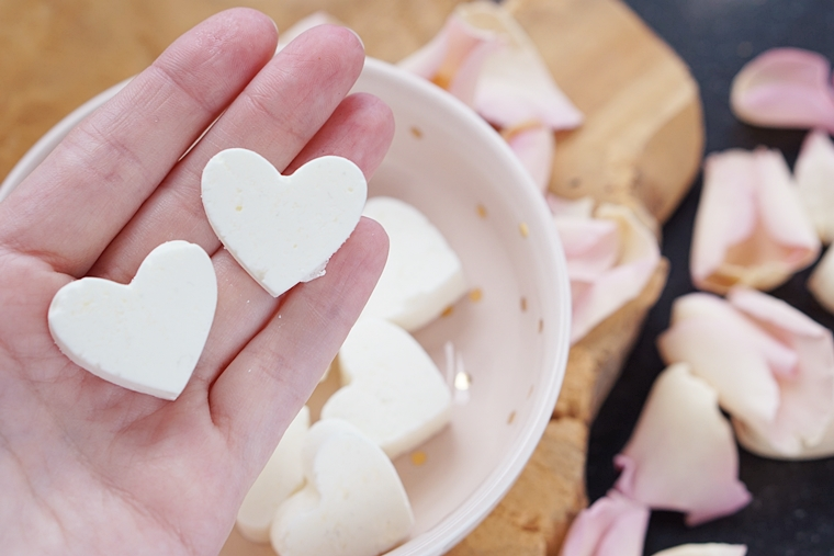 DIY shower melts recept
