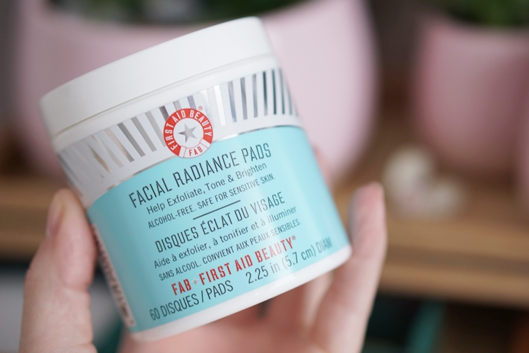 fab beauty review 2 - Love it! | FAB facial radiance pads & ultra repair cream
