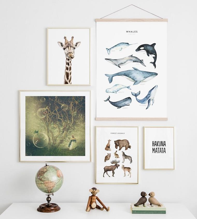 fotowand inspiratie 1 - Interieur | Inspiratie voor een toffe fotowand