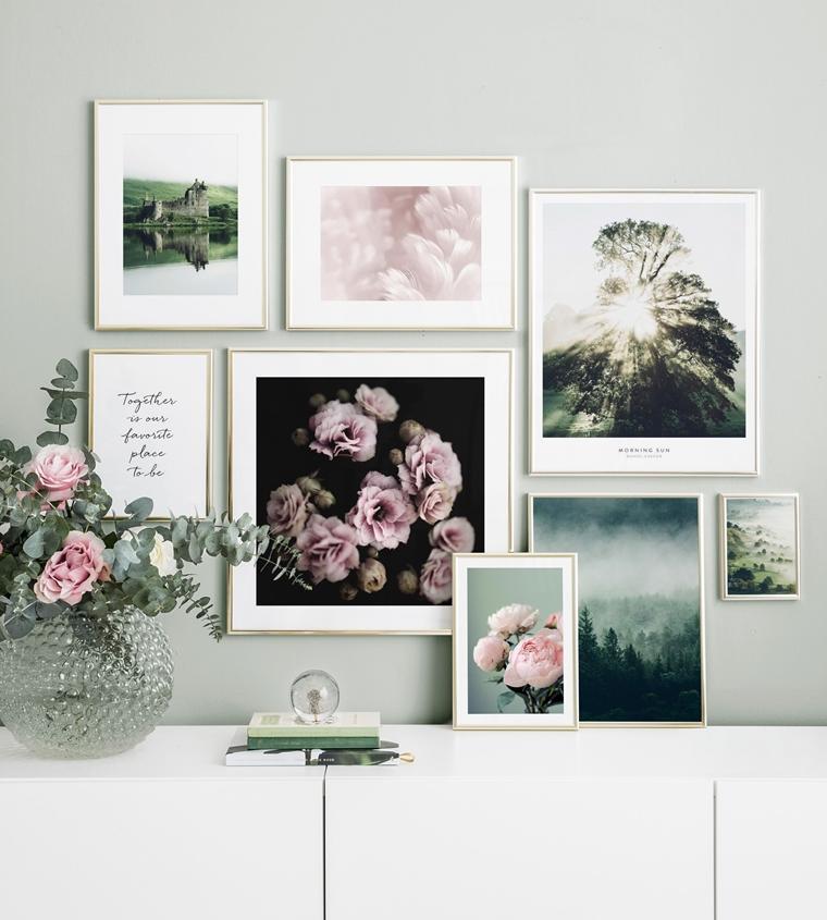 fotowand inspiratie 7 - Interieur | Inspiratie voor een toffe fotowand