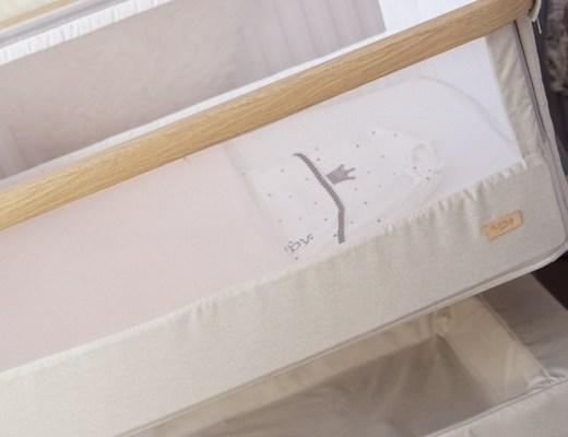 tutti bambini cozee bedside crib