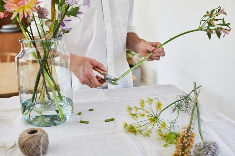 bloemen goed houden tips 3 - Zo blijft je bos bloemen langer vers