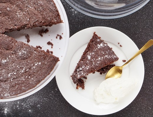 brownie cake recept