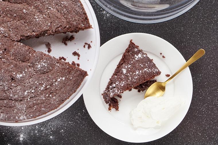brownie cake recept