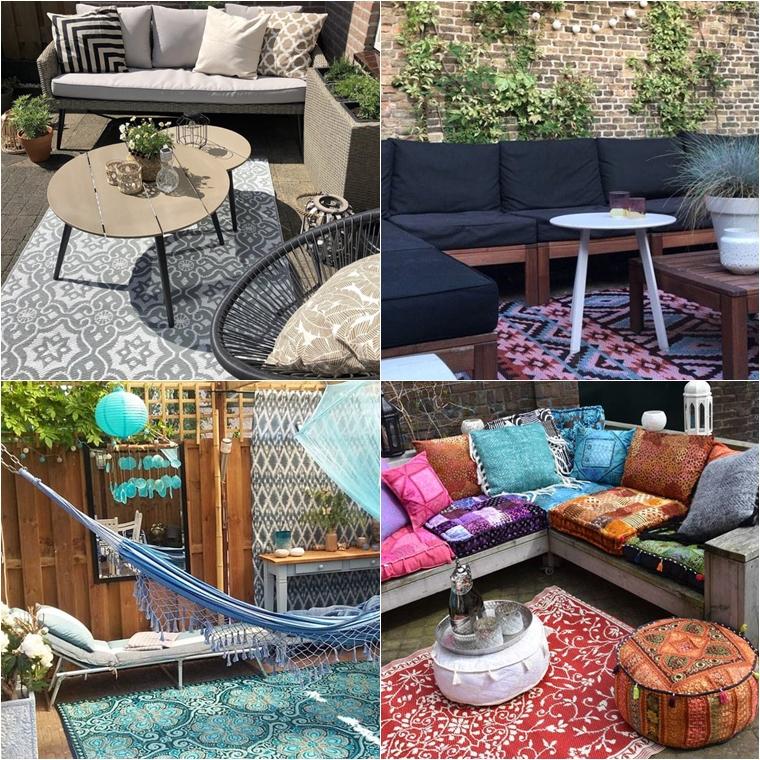 bohemian garden inspiratie 1 - Zo maak je van je tuin een Bohemian Garden